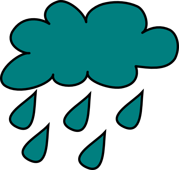 Rain Cloud Clip Art at...