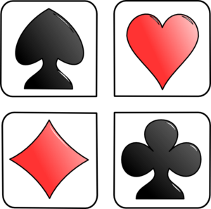 Secrets of Win: Poker Card Clip Art