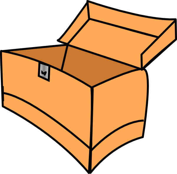 Brown Tool Box Clip Art at Clker.com - vector clip art ...
