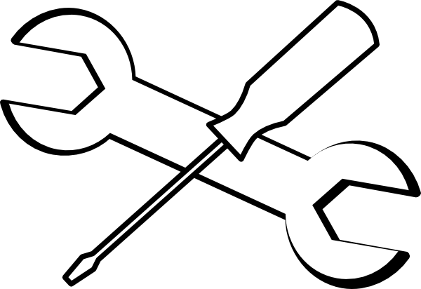 Screw Driver And Hammer Clip Art At Clker