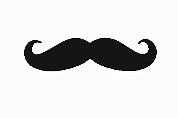 free vector mustache clip art - photo #5