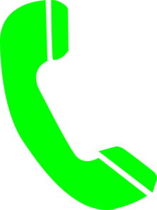 phone answer green clip art at clker com vector clip art online rh clker com