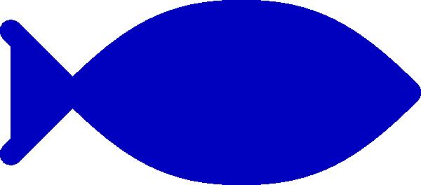 Blue Fish Clip Art At Clker Com Vector Clip Art Online