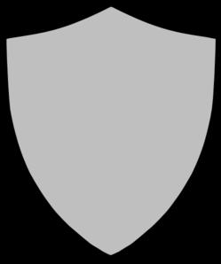 shield gray clip art at clker com vector clip art online royalty