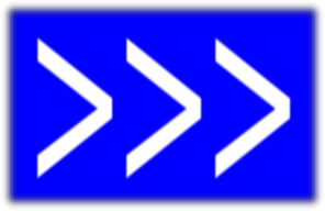 Arrows To Right(blue) Clip Art