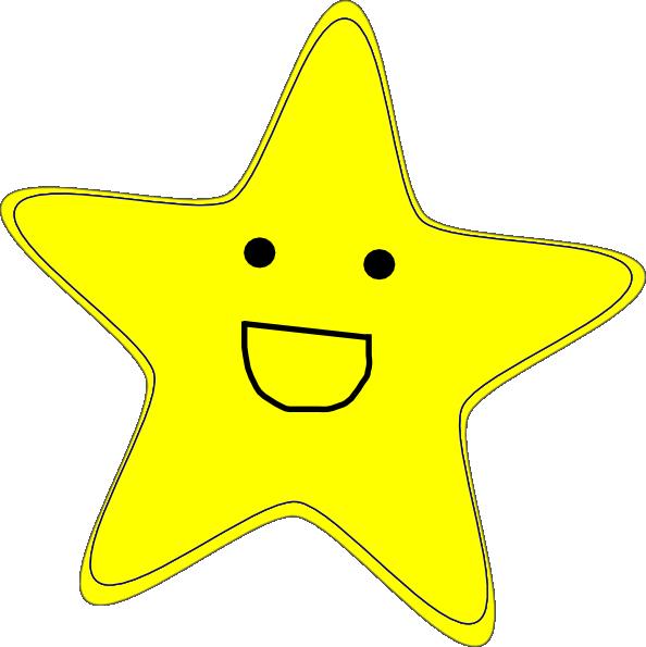 happy star clip art - photo #2