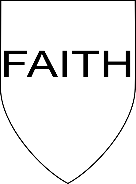 Free Coloring Pages Of Shield Of Faith Shield Of Faith Coloring Page