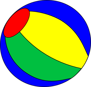 Beach Ball Clip Art