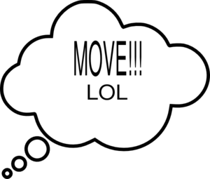 Move Clould Clip Art