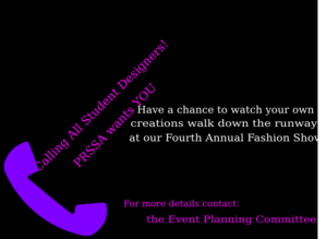 Prssa Fashion Show Clip Art