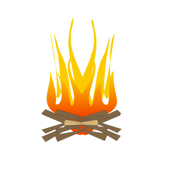 free clip art fire pit - photo #25