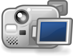Camera Video Clip Art