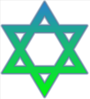 Star Of David Colored Clip Art