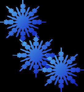 snowflakes blue clip art at clker com vector clip art online rh clker com silver snowflake clipart free free clipart snowflake