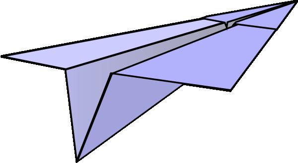 Paper Airplane Clip Art at Clker.com - vector clip art online ...