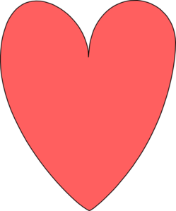 The Red Heart Clip Art