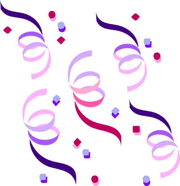 clipart balloons and streamers - photo #40