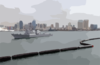 The Guided Missile Destroyer Uss Mccampbell (ddg 85) Departs Her Homeport Of San Diego, Calif. Clip Art