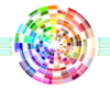 Abstract Color Wheel Clip Art