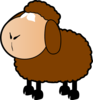 Brown Sheep Clip Art