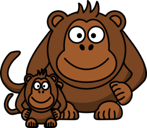 Cartoon Monkey Clip Art Clip Art