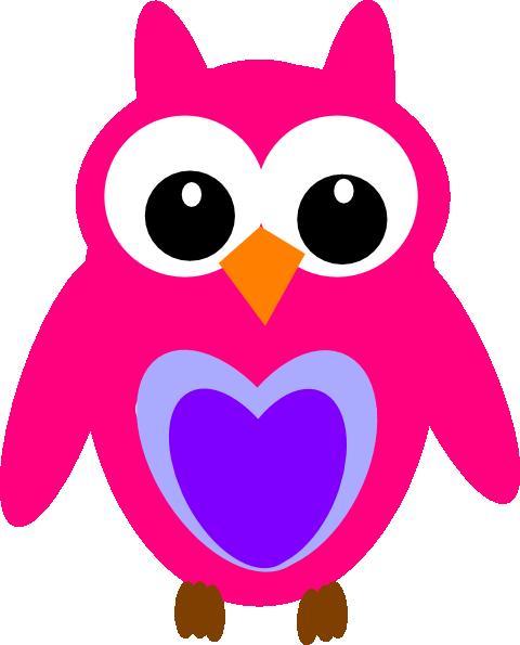 purple pink owl clip art at clker com vector clip art pink and purple owl clip art pink owl clip art free
