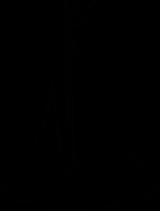 Simple Sailboat Clipart - Clipart Kid