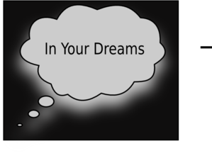 In Your Dreams Clip Art