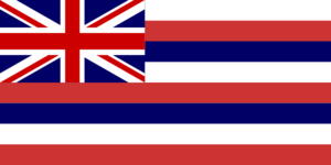 Hawaiian Flag  Clip Art