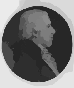 [benjamin Rush, Head-and-shoulders Portrait, Right Profile] Clip Art