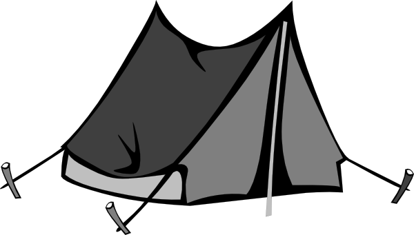 Download this image as  sc 1 st  Clker & Blank Tent Clip Art at Clker.com - vector clip art online royalty ...