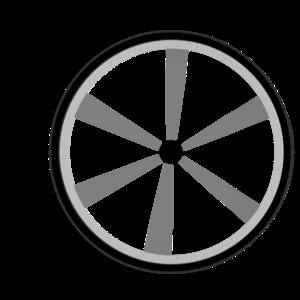wagon wheel gray clip art at clker com vector clip art online rh clker com Western Wagon Wheel Clip Art wagon wheel clip art free