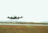 A P-3c Orion, Assigned To The Liberty Bells Of Patrol Squadron Sixty Six (vp-66), Leaves The Ground To Commence The First Of Many Missions Flown During Keflavik Tactical Exchange 2003 Clip Art
