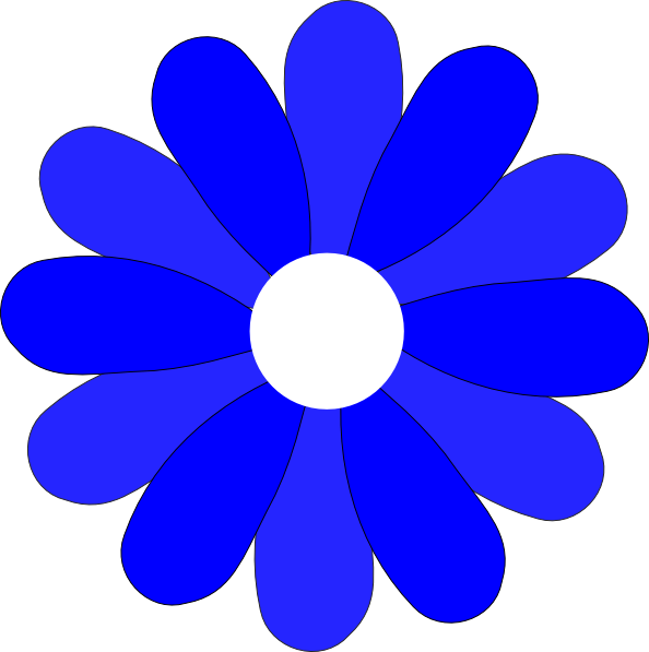 blue gerbera daisy clip art at clker com vector clip art online rh clker com pink gerber daisy clipart gerbera daisies clip art