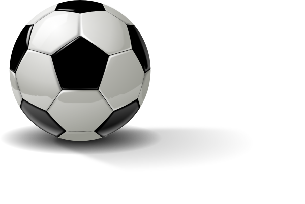 Real Soccer Ball Clip Art at Clker.com - vector clip art online ...