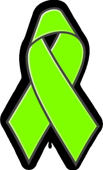 Lyme Awareness Ribbon Clip Art At Clker Vector Clip Art Online
