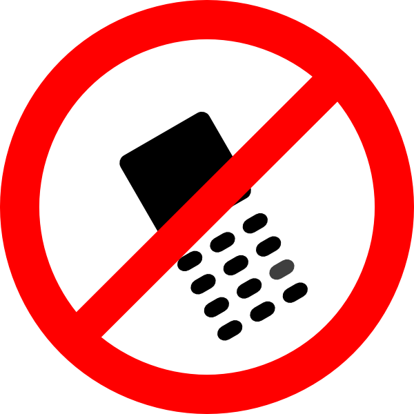 no cell phone clipart free - photo #7