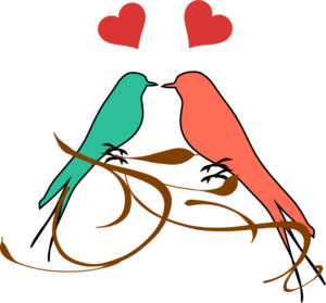 Birds On A Branch3 Clip Art