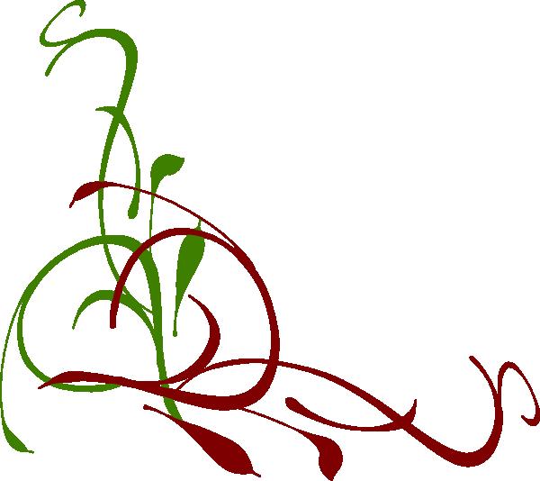 color swirl clip art at clker com vector clip art online royalty rh clker com elegant christmas tree free clipart Vintage Christmas Clip Art