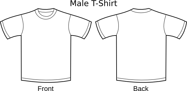 t shirts plain. Plain T-shirts clip art
