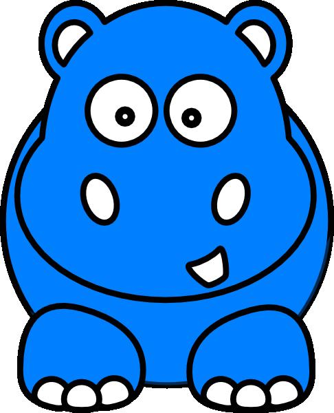 baby hippo clipart - photo #24