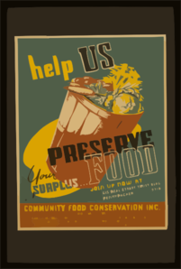 Help Us Preserve Your Surplus...food Clip Art