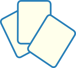 card deck blue clip art at clker com vector clip art online rh clker com playing cards clipart free playing cards clipart images