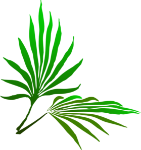Palm Sunday Branch Clip Art at Clker.com vector clip art online