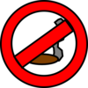 No Smoking! Clip Art
