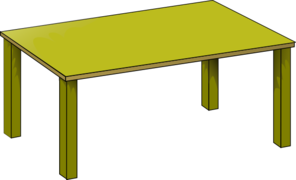 gold table clip art at clker com vector clip art online royalty rh clker com clipart tables with yellow tablecloths clip art table and chairs