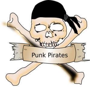 Punk Piratez Clip Art