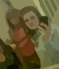 Blurred Friends Photo Clip Art