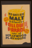It S New! - Red White Blue Malt - It S Different - So Is Follow The Parade  Now At Hollywood Playhouse. Clip Art