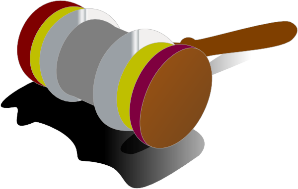 justice gavel color 1 clip art at clker com vector clip art online rh clker com